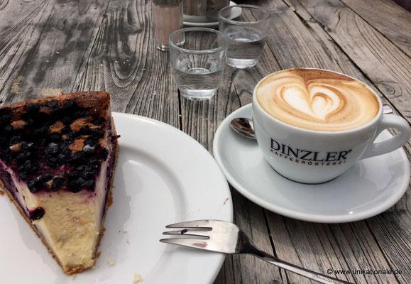 Kaffee beim Dinzler am Irschenberg