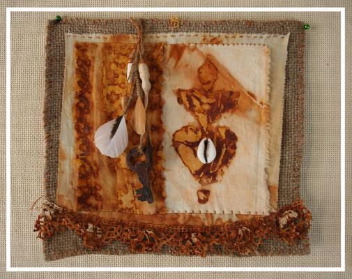 textile artist Natalie Magnin, Zamirte
