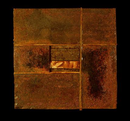 murale métal textile vanorbeek magnin