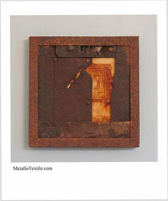 metal + textile