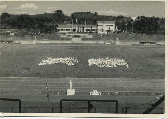 体育祭での人文字