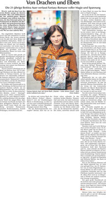 """Zeitungsartikel in der Donau Post """"Oktober 2013"""""""