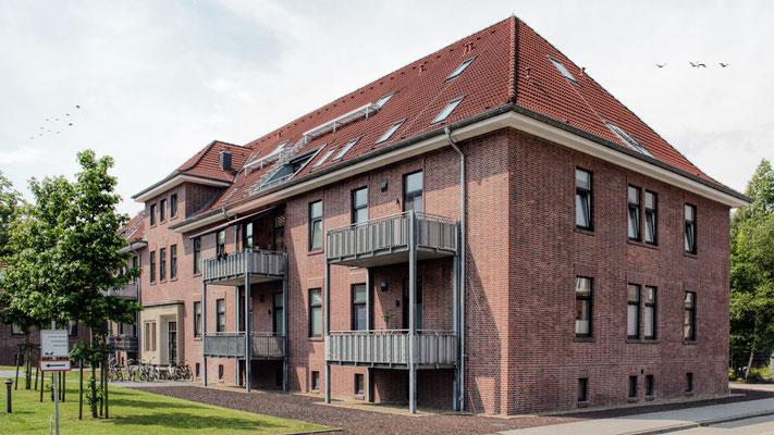 Wohnungen Kaserne - Emden - 2013 / 14