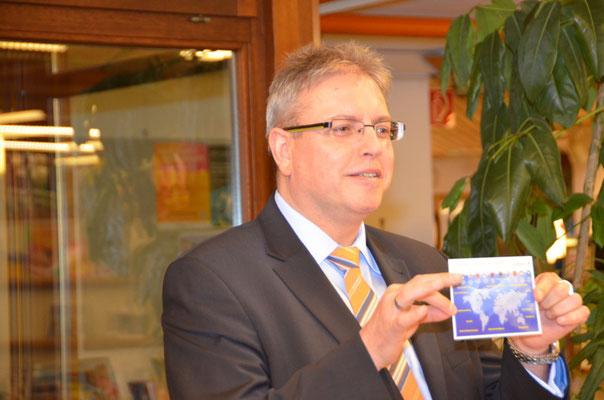 Dr. Frederic Stephan informiert über Stuttgarts Städtepartnerschaften