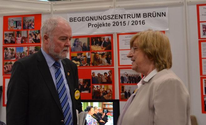 Herr Albrecht Schläger, Bundesvorsitzender der Seliger Gemeinde