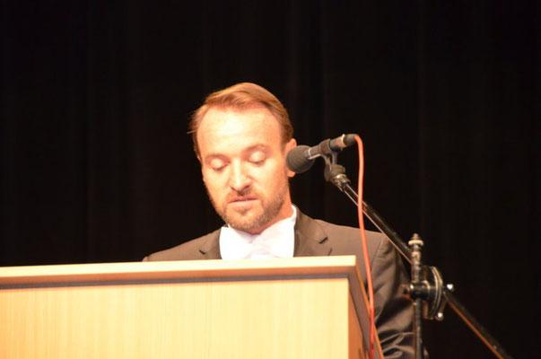 Der Präsident der Landesversammlung, Herr Martin Dzingel