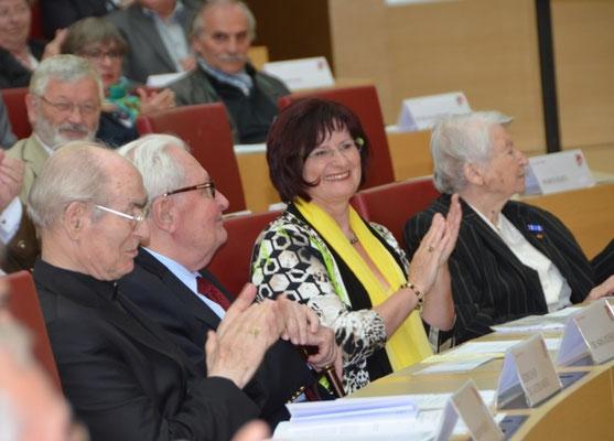 Em.Dr. Alfons Nossol, H.J.Vogel, Christa Naass, Olga Sippl