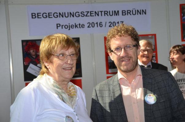 Wir danken Herrn Dr. Martin Ander für seinen Besuch an unserem Stand