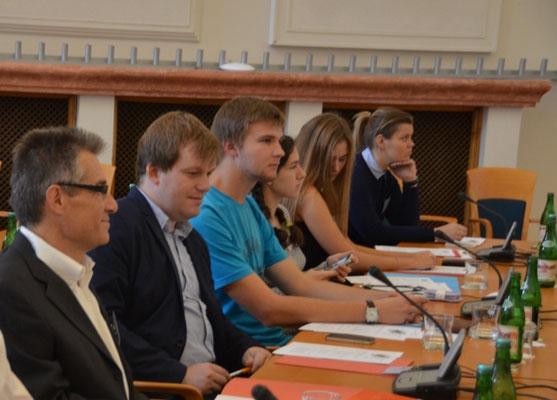 Studierende aus Brünn