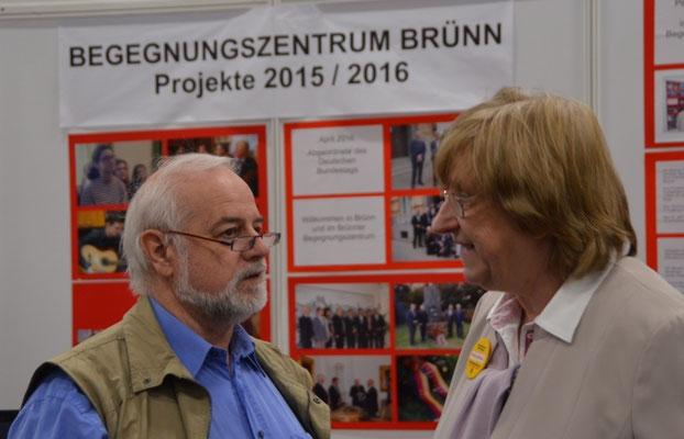 Herr Karl Garscha, Führungsmitglied der Seliger-Gemeinde