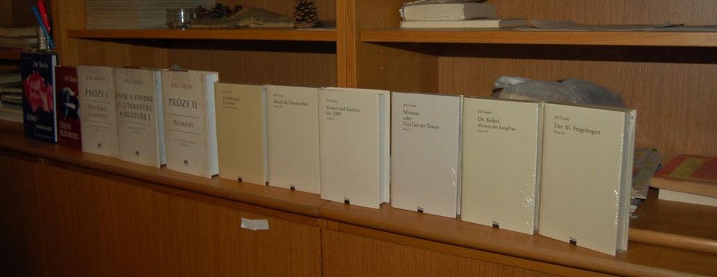 Die volle Edition der Publikationen von Jiří Gruša