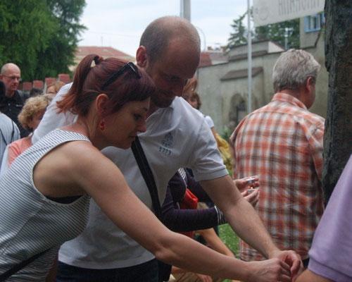 Dr. Kateřina Tučková und David Macek