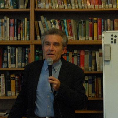 Herr Dr. Zdeněk Mareček konzipierte und moderierte die Veranstaltung