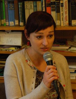 Ehrengast: Die Schriftstellerin Frau Dr. Kateřina Tučková