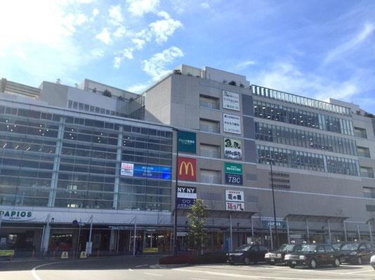 会場のあかし市民図書館は明石駅前のパピオス4階