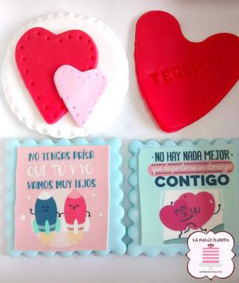 galletas decoradas especial san valentin, reposteria dia de los enamorados