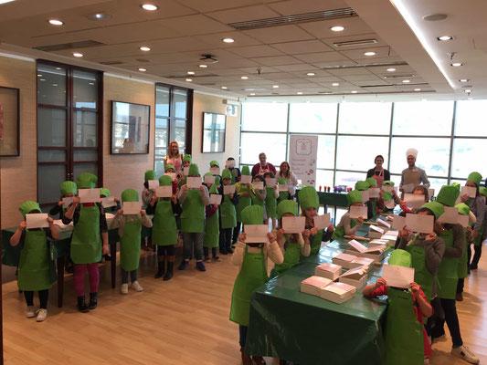 taller de reposteria creativa en Cartagena. La dulce ilusion en El Corte Ingles. Taller de reposteria infantil
