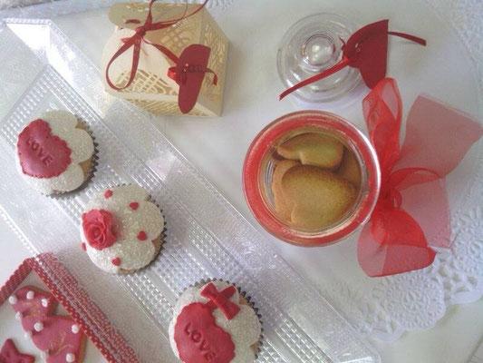 galletas especial san valentin, enamorados en Cartagena y Murcia