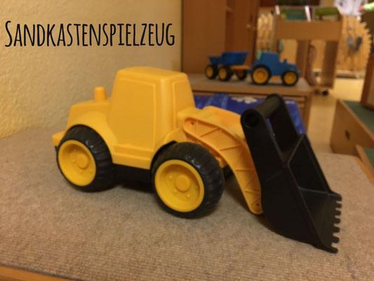 div. Sandspielzeug für den kommunalen und evangelischen KiGa