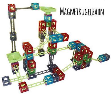 große Magnetkugelbahn für den evangelischen KiGa