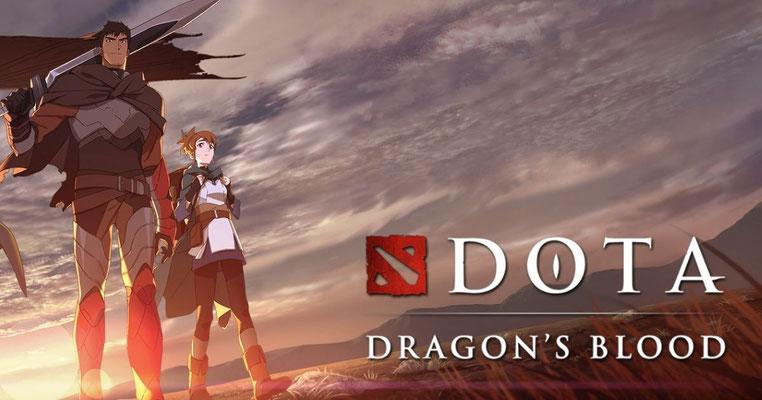 Dota Dragon's Blood (2 ép) / Netflix