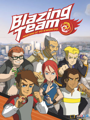 Blazing Team (9 épisodes) / Canal J
