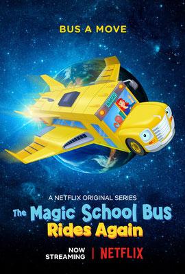 Les nouvelles aventures du bus magique (2 ép) / Netflix