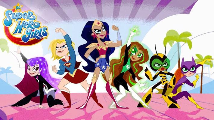 DC Super Hero Girls (78 ép + 52 web) / France 4