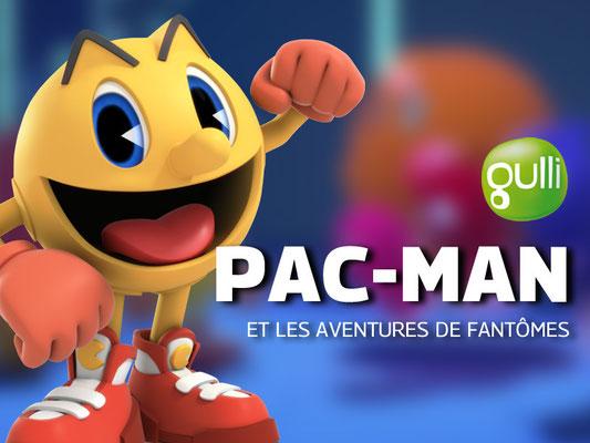 Pac Man & les aventures de fantômes (11 épisodes) / Gulli