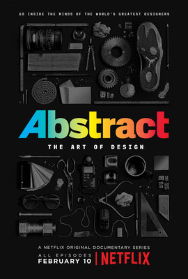 Abstract : l'art du design (4 ép.) / Netflix