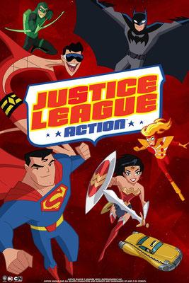 La Ligue des Justiciers : Action (22 ép) / Toonami