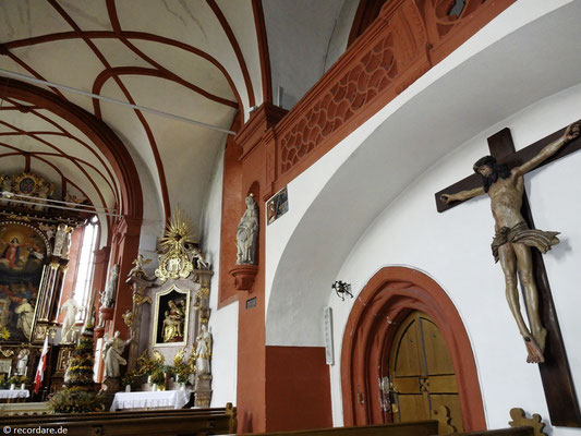Lebensgroßes Christuskreuz aus dem 15. Jhdt.