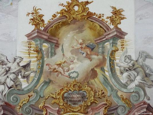 Über 100 Putten- und Engelsdarstellungen finden sich in der Votivkirche