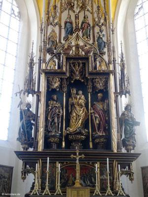 Hochaltar 1507-1514 von Hans Leinberger