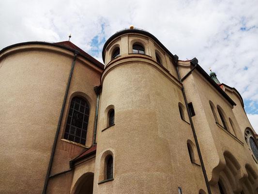 Neobarocker Kirchenbau von 1910