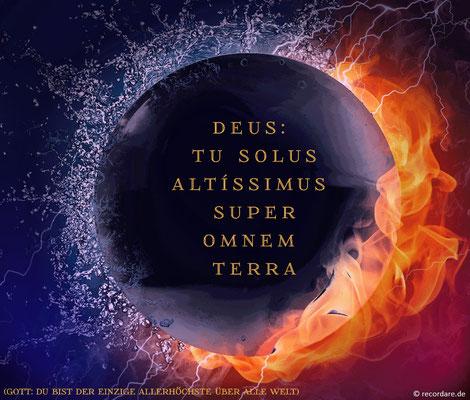 Deus tu solus Altíssimus
