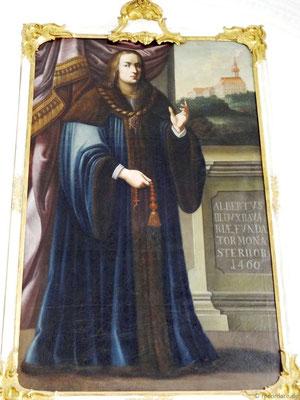 Albert III. - Gründer des Benediktinerklosters