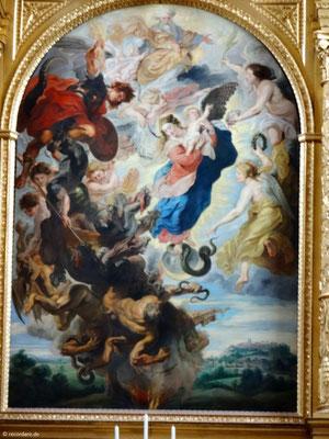 """Altarbild """"Das apokalyptische Weib"""" von Peter Paul Rubens"""