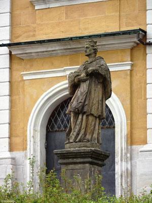 Hl. Johannes Nepomuk, Statue aus Kloster Langheim