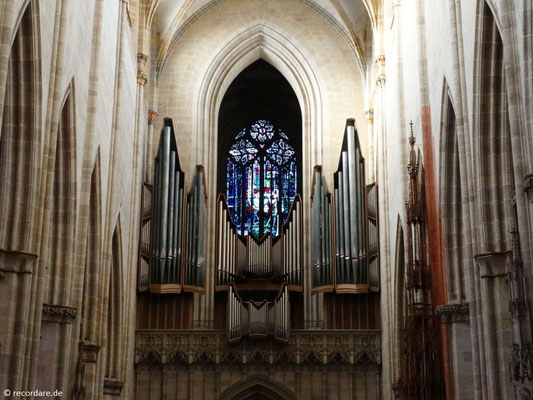 Orgel von 1969 mit 8920 Pfeifen