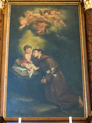 Altargemälde Antonius von Padua und das göttliche Kind
