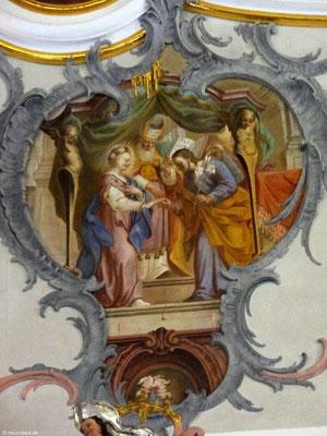 Josef erwählt Maria zur Braut