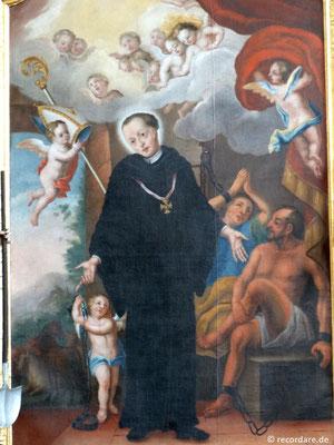 """Altarbild """"St. Leonhard mit Gefangenen"""""""
