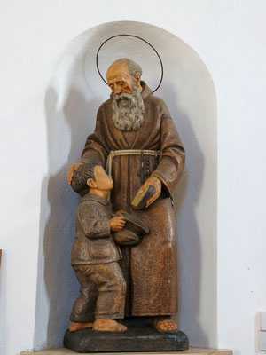 Bruder Konrad Statue um 1930