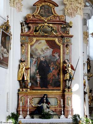 Linker Seitenaltar St. Leonhard