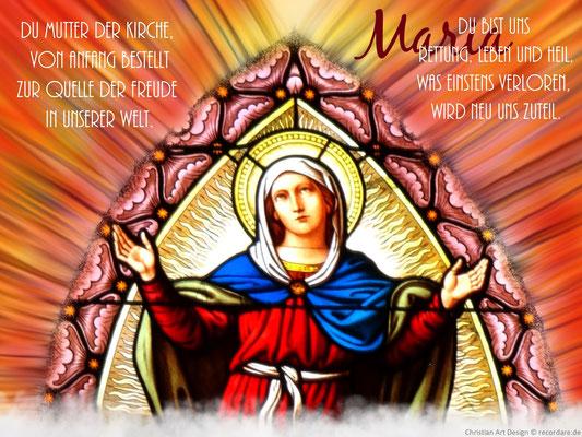 Maria, Mutter der Kirche