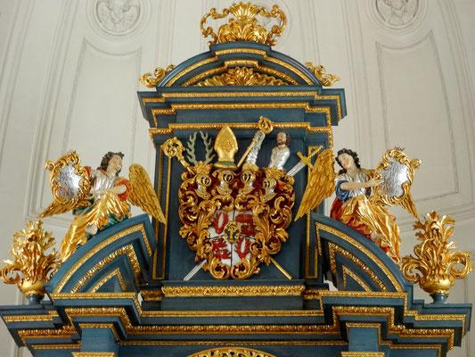 Wappen des Eichstätter Fürstbischofs Schenk von Castell