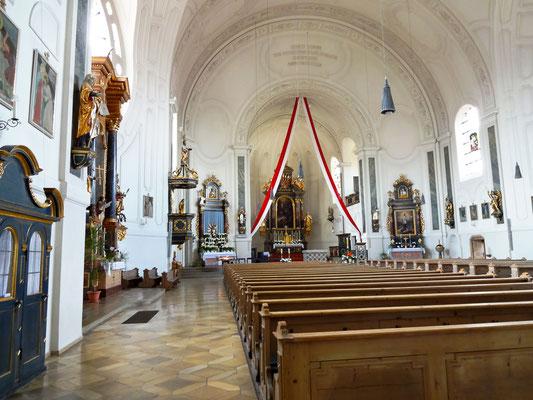 Neobarockes Kirchenschiff