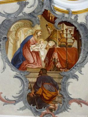 Jesu Aufopferung im Tempel