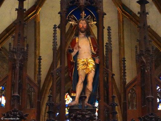 Christusfigur Chorgestühl